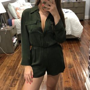 Alice and Olivia Green Jumper